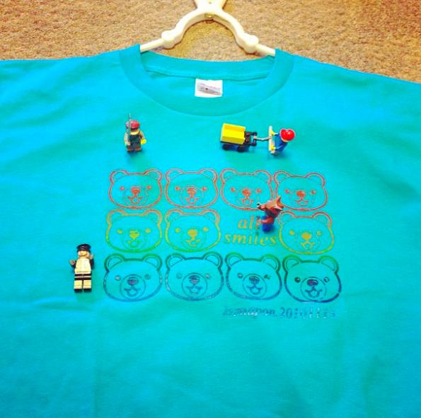 オリジナルTシャツ完成